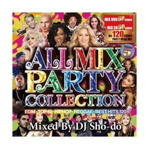 ヒップホップ・R&B・洋楽・レディガガ【MixCD】【DVD】All Mix Party Collection 5 / DJ Sho-Do[M便 2/12]|mixcd24