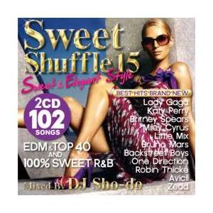 アリアナ・グランデ・ワンダイレクション【MixCD】【洋楽】Sweet Shuffle 15 -Sweet & Elegant Style- / DJ Sho-Do[M便 2/12]|mixcd24
