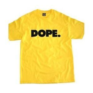 【Tシャツ】DOPE. / Men's T-Shirt[M便 5/12]|mixcd24