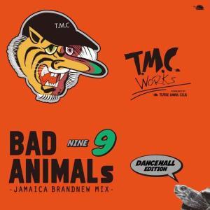 ダンスホール レゲエ タートルマンズクラブ 洋楽CD MixCD Bad Animals 9 Jamaica Brand New Mix -Dancehall Edition- / Turtle Man's Club[M便 1/12]|mixcd24