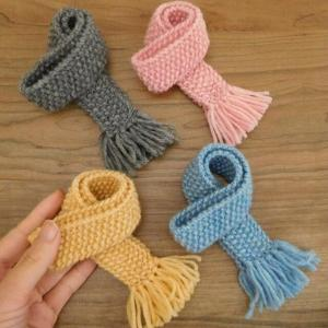 人形用 マフラー 人形用マフラー ドール ドール用 かのこ編み