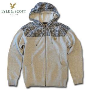 ライルアンドスコット LYLE&SCOTT 正規販売店 FAIRISLE HOOFED SWEATER フーデッドセーター|mixon