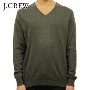 ジェイクルー セーター メンズ 正規品 J.CREW COTTON-CASHMERE V-NECK SWEATER|mixon