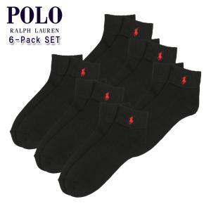 【エントリーで5%付与 4/6 0:00〜4/9 23:59】 ポロ ラルフローレン POLO RALPH LAUREN 正規品 アンクルソックス Classic Ankle Sock|mixon