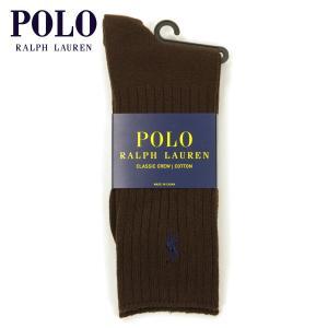 【エントリーで5%付与 4/6 0:00〜4/9 23:59】 ポロ ラルフローレン POLO RALPH LAUREN 正規品 ソックス Cotton Crew Single Sock|mixon