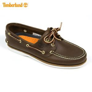 ティンバーランド Timberland 正規品 デッキシューズ CLASSIC BOAT SHOE 74035 ブラウン|mixon