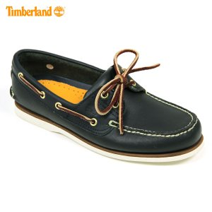 ティンバーランド Timberland 正規品 デッキシューズ CLASSIC BOAT SHOE 74036 ネイビー|mixon