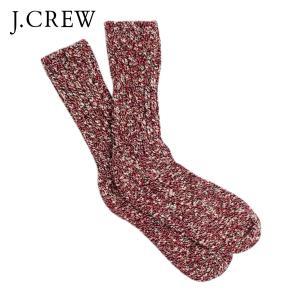 ジェイクルー J.CREW 正規品 ソックス SOCKS RED|mixon