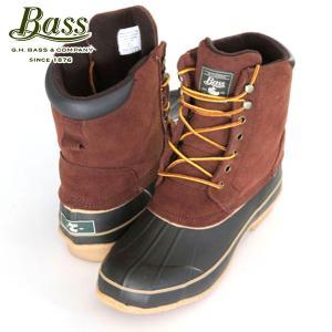 バス G.H.BASS 正規品 メンズ ビーンブーツ Bean Boots DARWIN 2104-200 BROWN mixon