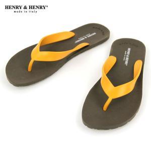 ヘンリーアンドヘンリー HENRY&HENRY 正規販売店 サンダル フリッパー FRIPPER SANDAL MARRON / ORANGE 29/54|mixon