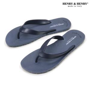 ヘンリーアンドヘンリー HENRY&HENRY 正規販売店 サンダル フリッパー FRIPPER SANDAL NAVY 28|mixon
