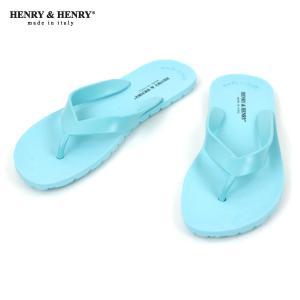 ヘンリーアンドヘンリー HENRY&HENRY 正規販売店 サンダル フリッパー FRIPPER SANDAL ACQUA 32|mixon
