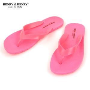 ヘンリーアンドヘンリー HENRY&HENRY 正規販売店 サンダル フリッパー FRIPPER SANDAL FUCSIA FLUO PINK 35|mixon