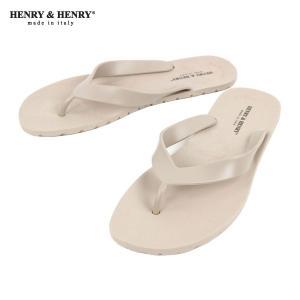 ヘンリーアンドヘンリー HENRY&HENRY 正規販売店 サンダル フリッパー FRIPPER SANDAL BEIGE 45|mixon