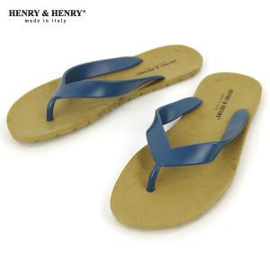 ヘンリーアンドヘンリー HENRY&HENRY 正規販売店 サンダル フリッパー FRIPPER SANDAL BRONZ/PETROL 24/11|mixon
