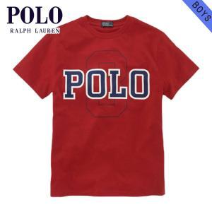 ポロ ラルフローレン キッズ 正規品 子供服 ボーイズ 半袖Tシャツ Short-Sleeved Polo Graphic|mixon
