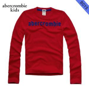 【エントリーで5%付与 2/16 0:00〜2/19 23:59】 アバクロ Tシャツ キッズ AbercrombieKids 正規品 子供服 ボーイズ 長袖 logo long sleev|mixon