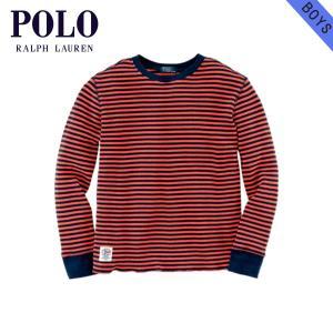 ポロ ラルフローレンキッズ POLO RALPH LAUREN CHILDREN 正規品 子供服 ボーイズ 長袖Tシャツ|mixon