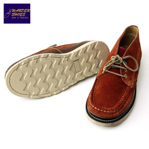 【20%OFFセール 更にエントリーで10%付与 2/26 0:00〜2/28 23:59】 ワンダーシューズ WANDER SHOES チャッカブーツ REPLICA CHUKKA BOOTS SUEDE RED mixon