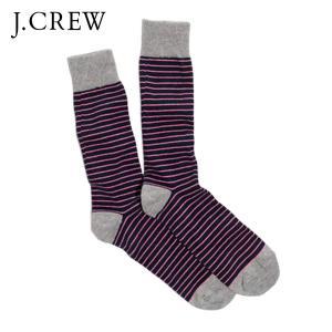 ジェイクルー ソックス メンズ 正規品 J.CREW 靴下 MICROSTRIPE TIPPED SOCKS|mixon