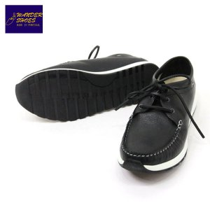 【20%OFFセール 更にエントリーで10%付与 2/26 0:00〜2/28 23:59】 ワンダーシューズ WANDER SHOES モカシン MOCCASIN SHOES (LEATHER BLACK) mixon