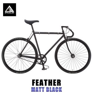 【エントリーで10%付与 2/26 0:00〜2/28 23:59】 フジ FUJI 2015 自転車 FEATHER (SINGLE SPEED) MATT BLACK mixon