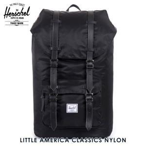 【エントリーで10%付与 2/26 0:00〜2/28 23:59】 ハーシェル Herschel バッグ Little America Classics - Nylon 10014-0058|mixon
