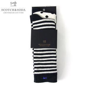 スコッチアンドソーダ メンズ SCOTCH&SODA 靴下 ソックス CLASSIC SOCK SOLD IN 2-PAC|mixon