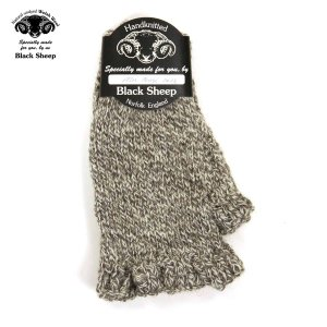 ブラックシープ BLACK SHEEP 正規販売店 メンズ 手袋 SB08 HANDMADE FINGERLESS KNIT GLOVE TWIST|mixon