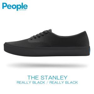 【エントリーで10%付与 2/26 0:00〜2/28 23:59】 ピープルフットウェア People Footwear 正規販売店 メンズ 靴 シューズ THE STANLEY NC02-011 REALLY BLA|mixon