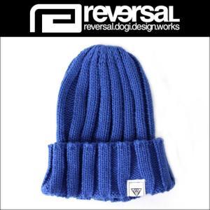 リバーサル REVERSAL 正規販売店 メンズ ニットキャップ DESTINY MARK KNIT CAP rvsf15aw013 SURF