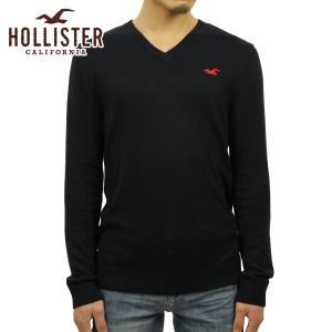 ホリスター メンズ HOLLISTER 正規品 セーター Iconic V-Neck Sweater 320-201-02|mixon