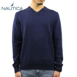 【エントリーで5%付与 4/6 0:00〜4/9 23:59】 ノーティカ NAUTICA 正規品 メンズ セーター V-NECK SWEATER|mixon