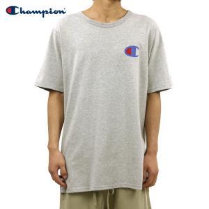 【ポイント5倍 2/23 0:00〜2/25 23:59まで】 チャンピオン Tシャツ 正規品 CHAMPION 半袖Tシャツ  CREW TEE T1919P Heritage Tee 806-OXFORDGREY #54950|mixon