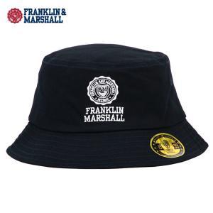 【ポイント10倍 2/23 0:00〜2/25 23:59まで】 フランクリンマーシャル 帽子 ハット メンズ FRANKLIN&MARSHALL 正規販売店 BAQET HAT NAVY mixon