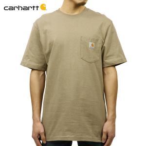 【エントリーで10%付与 2/26 0:00〜2/28 23:59】 カーハート Tシャツ メンズ CARHARTT 正規品 半袖ポケット WORKWEAR POCKET SHORT-SLEEVE T-SHIRT K87|mixon