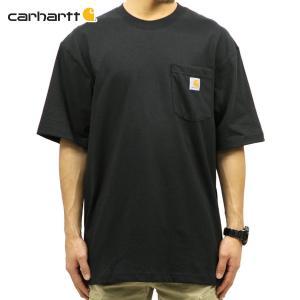【エントリーで10%付与 2/26 0:00〜2/28 23:59】 カーハート Tシャツ メンズ CARHARTT 正規品 半袖 WORKWEAR POCKET SHORT-SLEEVE T-SHIRT K87 BLK|mixon