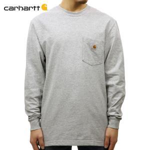 【エントリーで10%付与 2/26 0:00〜2/28 23:59】 カーハート Tシャツ メンズ CARHARTT 正規品 長袖ポケット WORKWEAR POCKET LONG-SLEEVE T-SHIRT K126|mixon