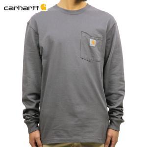 【エントリーで10%付与 2/26 0:00〜2/28 23:59】 カーハート CARHARTT 正規品 メンズ 長袖ポケTシャツ WORKWEAR POCKET LONG-SLEEVE T-SHIRT K126 CHR CHA|mixon