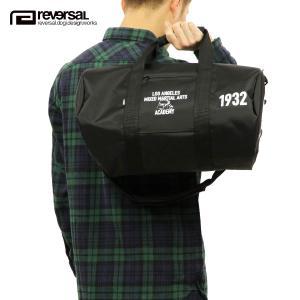 【エントリーで10%付与 2/26 0:00〜2/28 23:59】 リバーサル バッグ REVERSAL 正規販売店 LA DRUM BAG rv17aw028 BLACK|mixon