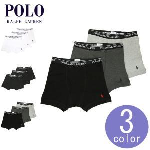 ポロ ラルフローレン メンズ POLO RALPH LAUREN 正規品 下着 ボクサーパンツ Boxer Brief 3-Pack|mixon