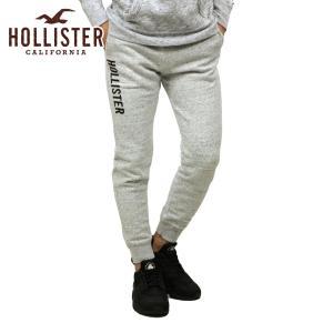 【エントリーで5%付与 2/16 0:00〜2/19 23:59】 ホリスター HOLLISTER 正規品 メンズ ロゴ ジョガーパンツ Logo Skinny Fleece Jogger Pants 334-344-0|mixon