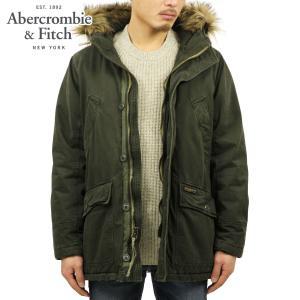アバクロ メンズ Abercrombie&Fitch 正規品 アウター モッズコート B-9 SHERPA-LINED PARKA 132-327-0400-330|mixon