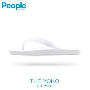 【ポイント10倍 4/5 0:00〜4/5 23:59まで】 ピープルフットウェア PEOPLE 正規品 メンズ 靴 シューズ サンダル THE YOKO NC09-007 YETI WHITE|mixon