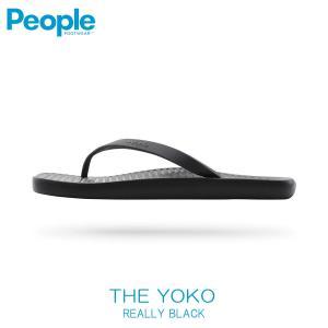 【ポイント10倍 4/5 0:00〜4/5 23:59まで】 ピープルフットウェア PEOPLE 正規品 メンズ 靴 シューズ サンダル THE YOKO NC09-001 REALLY BLACK|mixon