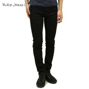 ヌーディージーンズ ジーンズ メンズ 正規販売店 Nudie Jeans ジーパン  シンフィン THIN FINN JEANS DRY EVER BLACK 792 1126940|mixon