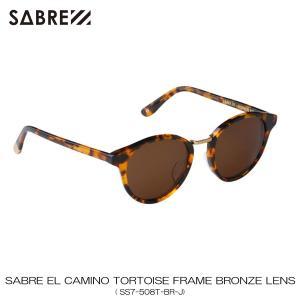 セイバー SABRE 正規販売店 サングラス めがね EL CAMINO TORTOISE FRAME BRONZE LENS SUNGLASS SS7-508T-BR-J|mixon