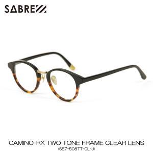 セイバー SABRE 正規販売店 サングラス めがね EL CAMINO-RX TWO TONE FRAME CLEAR LENS SS7-508TT-CL-J|mixon
