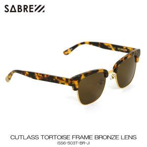 セイバー SABRE 正規販売店 サングラス めがね CUTLASS TORTOISE FRAME BRONZE LENS SUNGLASS SS6-503T-BR-J|mixon