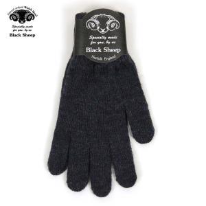 【エントリーで5%付与 5/26 0:00〜5/28 23:59】 ブラックシープ BLACK SHEEP メンズ 手袋 M KNIT GLOVE GL07B DENIM MIX|mixon